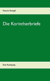 Cover Die Korintherbriefe
