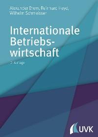 Cover Internationale Betriebswirtschaft