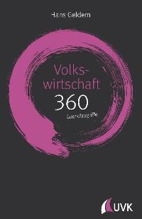 Cover Volkswirtschaft: 360 Grundbegriffe kurz erklärt
