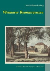 Cover Weimarer Reminiszenzen