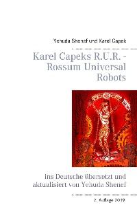 Cover Karel Capeks R.U.R. - Rossum Universal Robots