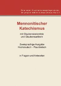 Cover Mennonitischer Katechismus mit Glaubensbekenntnis und Glaubensartikeln