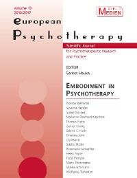 Cover European Psychotherapy 2016/2017