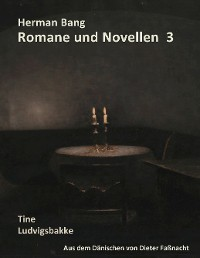 Cover Herman Bang Romane und Novellen Band 3