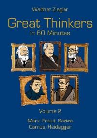 Cover Great Thinkers in 60 Minutes - Volume 2