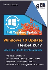 Cover Windows 10 Update - Herbst 2017