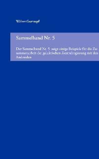 Cover Sammelband Nr. 5
