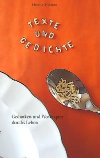 Cover Texte und Gedichte