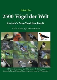 Cover 2500 Vögel der Welt