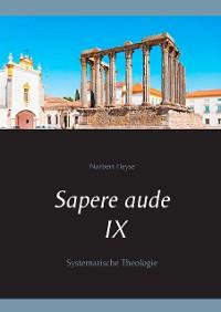 Cover Sapere aude IX