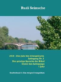 Cover 2018 - Das Jahr des Evangeliums