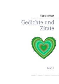 Cover Gedichte und Zitate