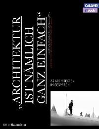 """Cover """"ARCHITEKTUR IST NÄMLICH GANZ EINFACH"""" - eBook"""