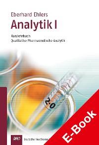 Cover Analytik I - Kurzlehrbuch