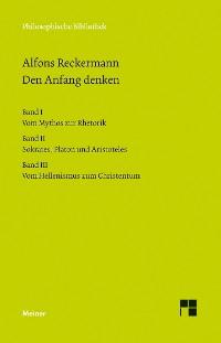 Cover Den Anfang denken