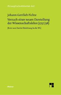 Cover Versuch einer neuen Darstellung der Wissenschaftslehre
