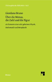Cover Über die Monas, die Zahl und die Figur