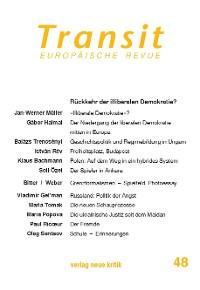 Cover Transit 48. Europäische Revue