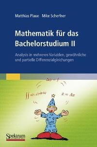 Cover Mathematik für das Bachelorstudium II