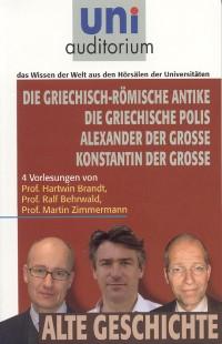 Cover Griechisch-Römische Antike Griechische Polis Alexander der Große Konstantin der Große