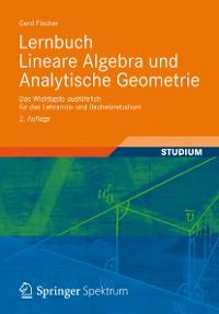 Cover Lernbuch Lineare Algebra und Analytische Geometrie