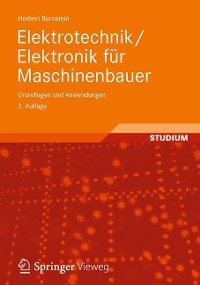 Cover Elektrotechnik/Elektronik für Maschinenbauer