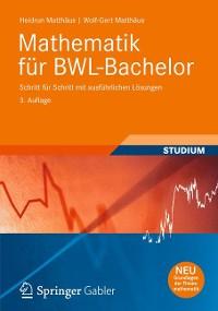 Cover Mathematik für BWL-Bachelor