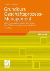 Cover Grundkurs Geschäftsprozess-Management