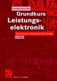 Cover Grundkurs Leistungselektronik