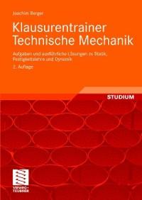 Cover Klausurentrainer Technische Mechanik