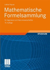 Cover Mathematische Formelsammlung