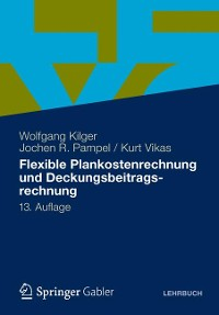 Cover Flexible Plankostenrechnung und Deckungsbeitragsrechnung
