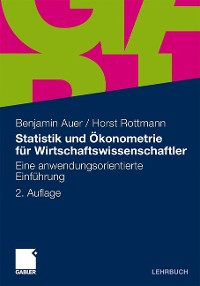 Cover Statistik und Ökonometrie für Wirtschaftswissenschaftler