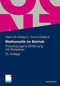 Cover Mathematik im Betrieb