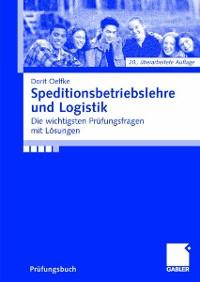 Cover Speditionsbetriebslehre und Logistik