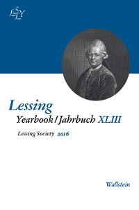 Cover Lessing Yearbook / Jahrbuch XLIII, 2016