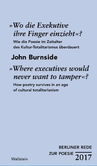 Cover »Wo die Exekutive ihre Finger einzieht«?/»Where executives would never want to tamper«?