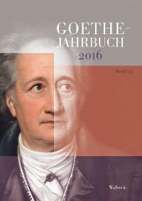 Cover Goethe-Jahrbuch 133, 2016
