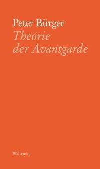 Cover Theorie der Avantgarde