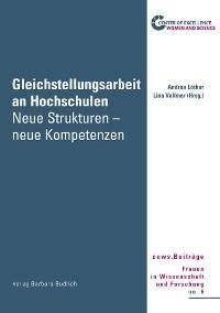 Cover Gleichstellungsarbeit an Hochschulen