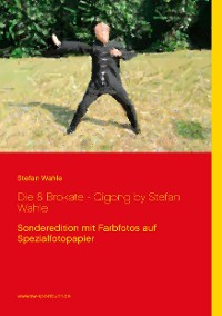 Cover Die 8 Brokate - Qigong by Stefan Wahle