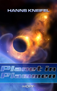 Cover Planet in Flammen