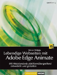 Cover Lebendige Webseiten mit Adobe Edge Animate