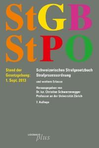 Cover StGB - Schweizerisches Strafgesetzbuch /StPO - Strafprozessordnung
