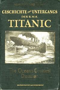 Cover Die Geschichte des Untergangs der RMS Titanic