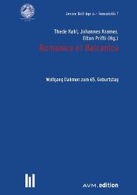 Cover Romanica et Balcanica