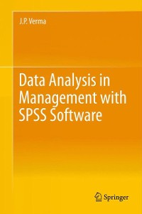 Cover Data Analysis in Management with SPSS Software