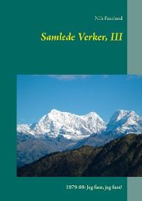 Cover Samlede Verker, III