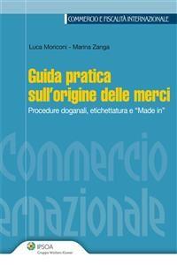 Cover Guida pratica sull'origine delle merci