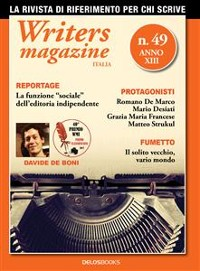Cover Writers Magazine Italia 49